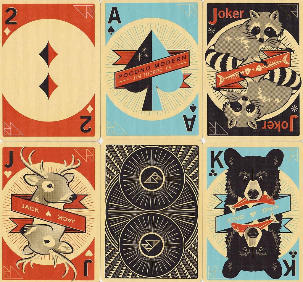 The Woodland Deck Playing Cards by US Playing Card Co.