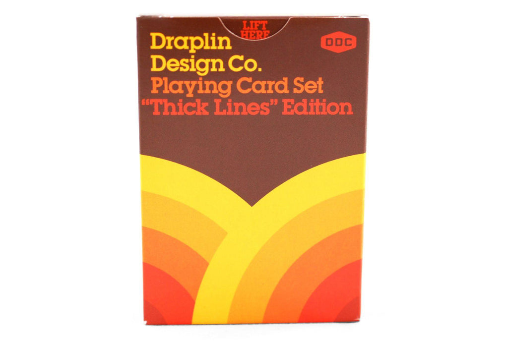 Thick Lines Playing Cards - RarePlayingCards.com - 4