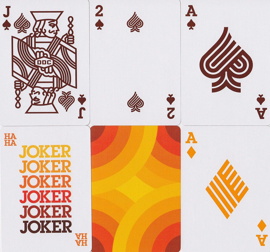 Thick Lines Playing Cards by Deckstarter®