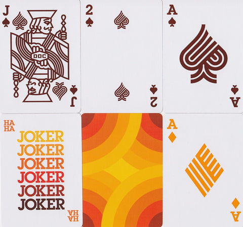 Thick Lines Playing Cards