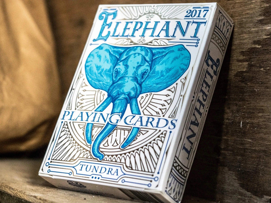 Tundra Elephant Playing Cards