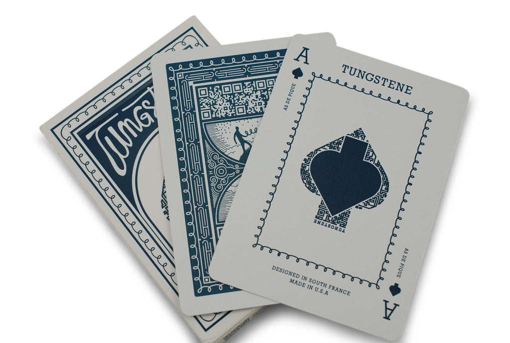 Tungstene Playing Cards - RarePlayingCards.com - 8