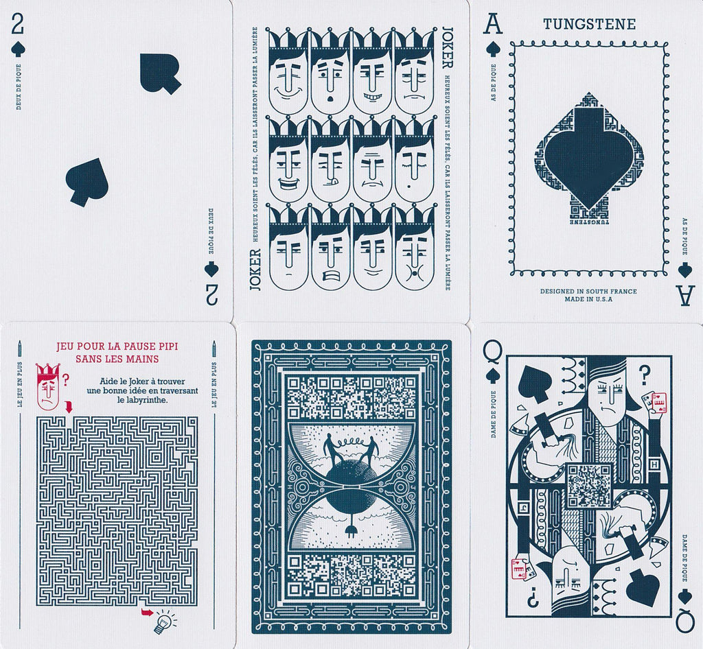 Tungstene Playing Cards - RarePlayingCards.com - 9
