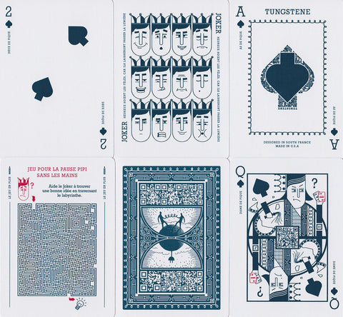 Tungstene Playing Cards - RarePlayingCards.com - 1