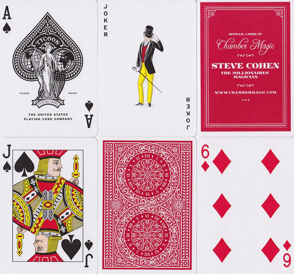 Tycoon Playing Cards - RarePlayingCards.com - 11