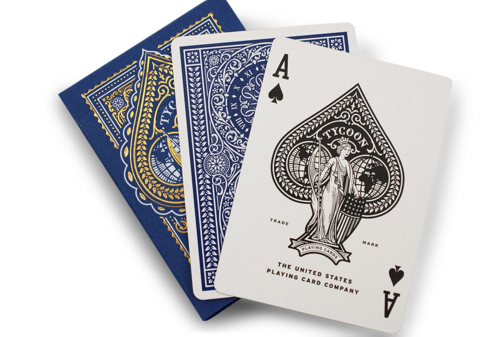 Tycoon Playing Cards - RarePlayingCards.com - 9