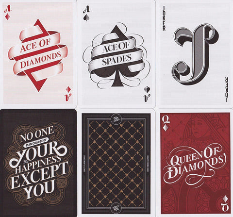 Type Deck Playing Cards - RarePlayingCards.com - 1