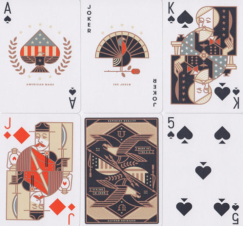 Union Playing Cards - RarePlayingCards.com - 1