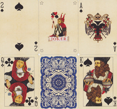 Uusi Classic Playing Cards - RarePlayingCards.com - 1