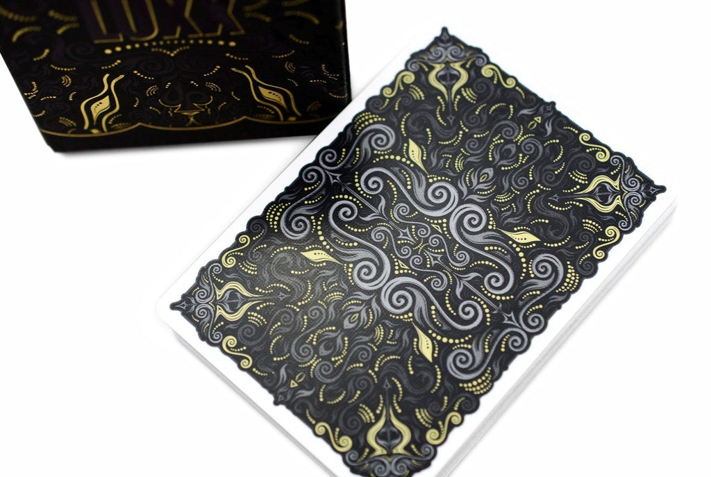 V2 LUXX® Shadow Edition Gold Playing Cards