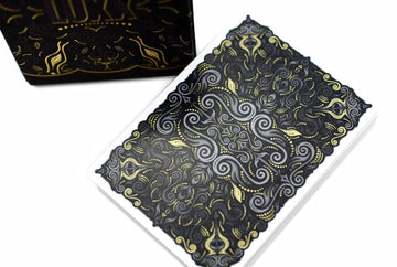 V2 LUXX® Shadow Edition Gold Playing Cards by LUXX