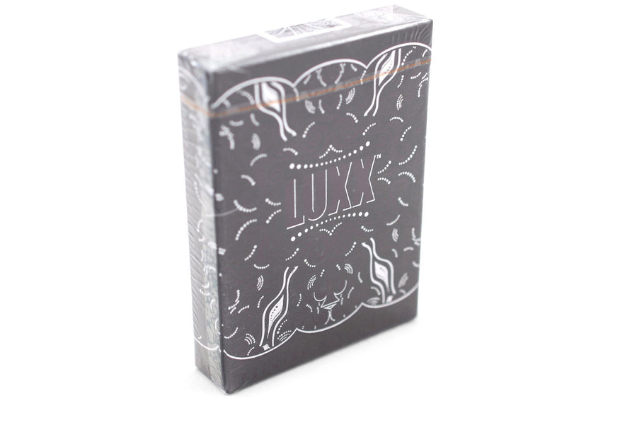 V2 LUXX® Shadow Edition Silver Playing Cards by LUXX