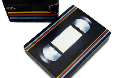VHS Deck Playing Cards - RarePlayingCards.com - 1