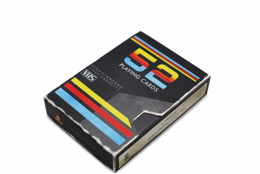 VHS Deck Playing Cards by Expert Playing Card Co.