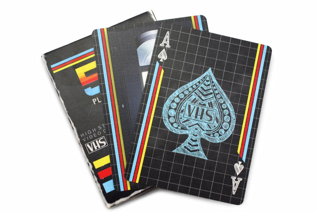 VHS Deck Playing Cards - RarePlayingCards.com - 8
