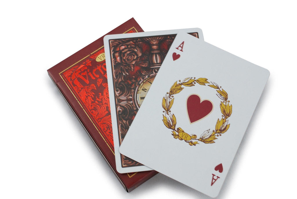 Victorian Room Playing Cards - RarePlayingCards.com - 8