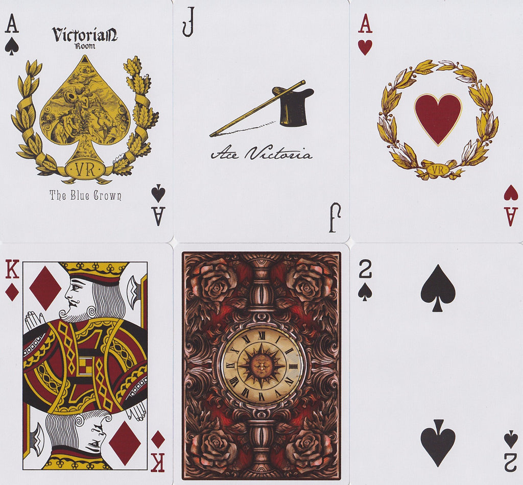 Victorian Room Playing Cards - RarePlayingCards.com - 9