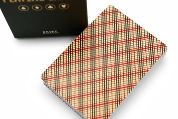 Vintage Plaid Playing Cards by Dan & Dave