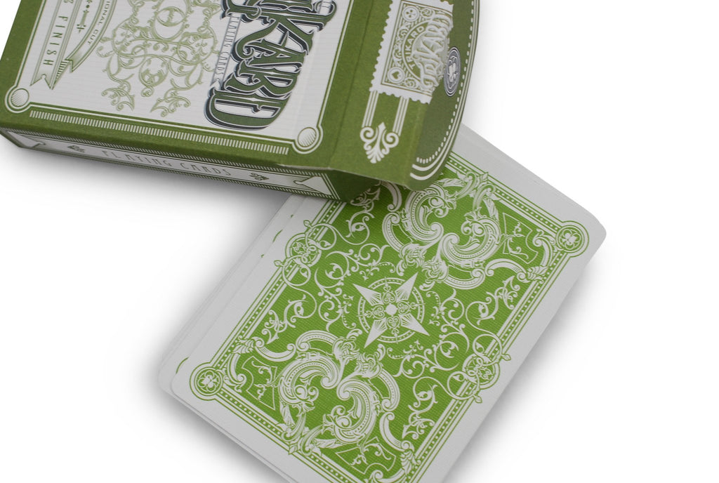 Viridian Playing Cards by Legends Playing Card Co.