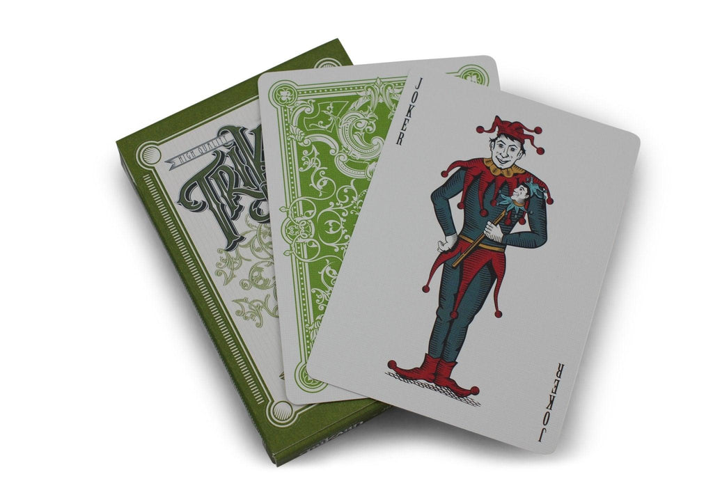 Viridian Playing Cards - RarePlayingCards.com - 7