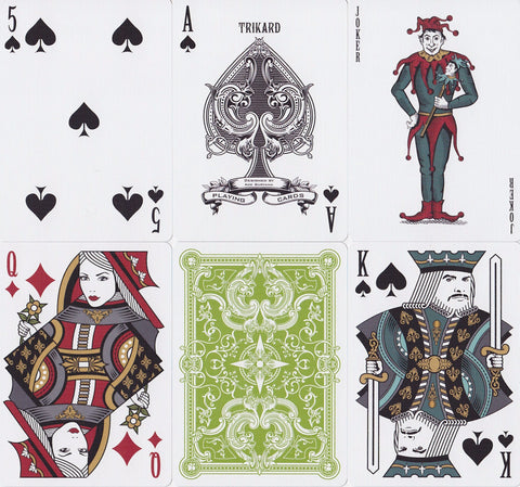 Viridian Playing Cards