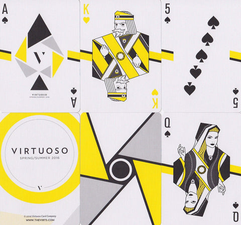 Virtuoso SS16 Playing Cards - RarePlayingCards.com - 1