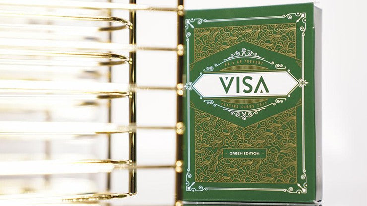 VISA Playing Cards by Patrick Kun