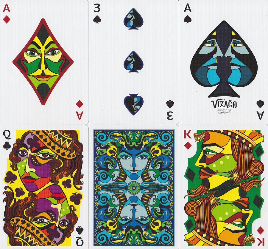 VIZAGO Playing Cards by Legends Playing Card Co.
