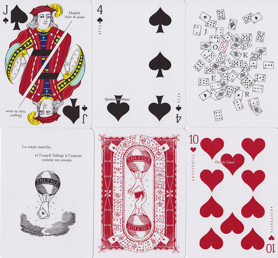 Voltige Playing Cards by Dan & Dave