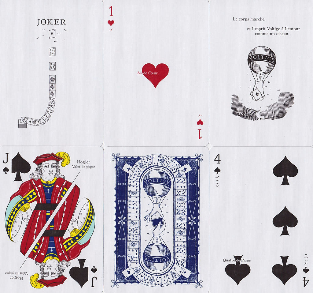 Voltige Playing Cards - RarePlayingCards.com - 11