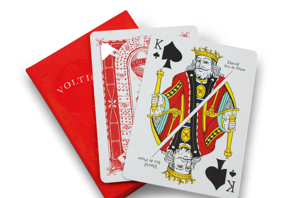 Voltige Playing Cards - RarePlayingCards.com - 9