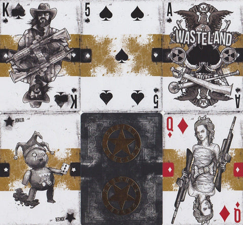 Wasteland: Desert Ranger Playing Cards