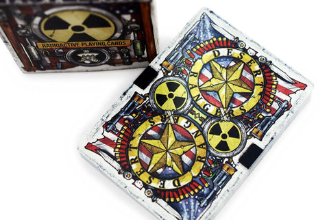 Wasteland: Radioactive Playing Cards