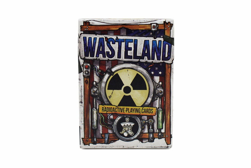 Wasteland: Radioactive Playing Cards by Expert Playing Card Co.