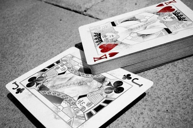 White Arcane Playing Cards by Ellusionist