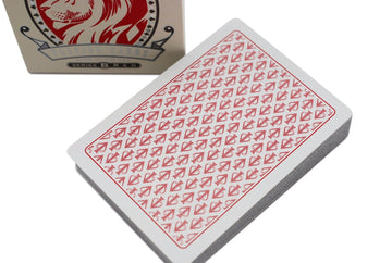 White Lions Playing Cards by David Blaine