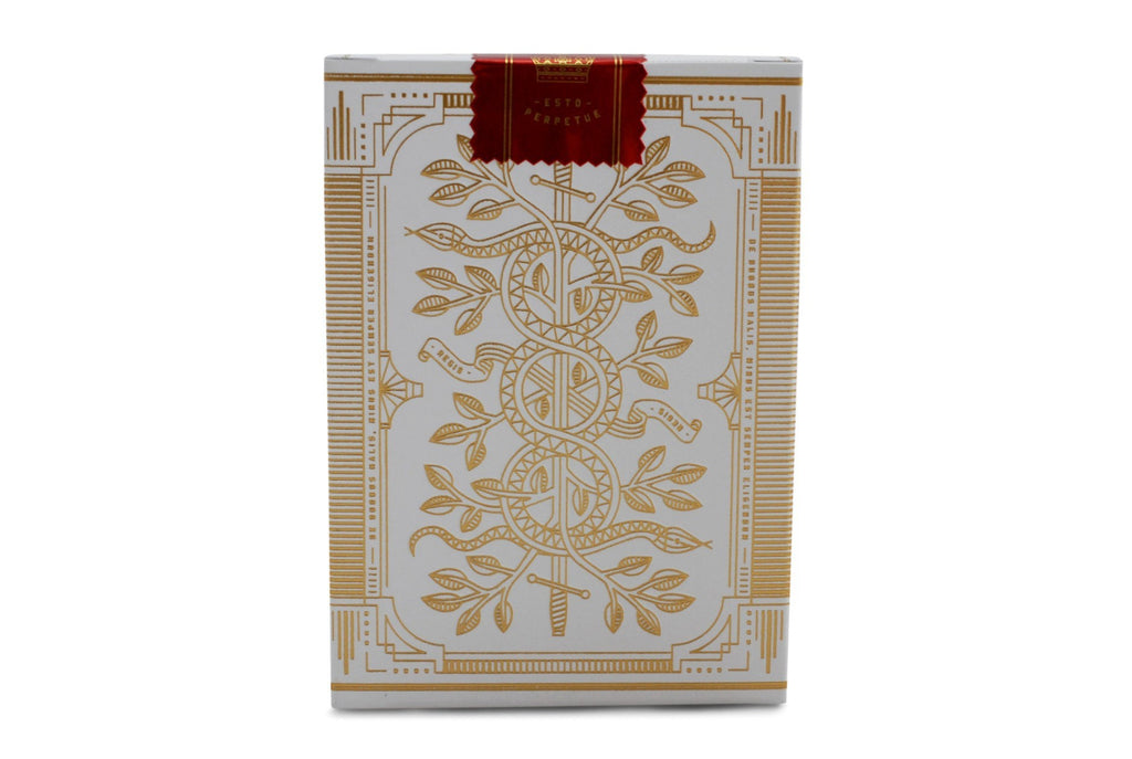 White Monarchs Limited Ed. Playing Cards - RarePlayingCards.com - 3