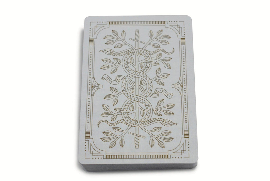 White Monarchs Limited Ed. Playing Cards - RarePlayingCards.com - 7