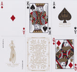 White Monarchs Limited Ed. Playing Cards - RarePlayingCards.com - 9