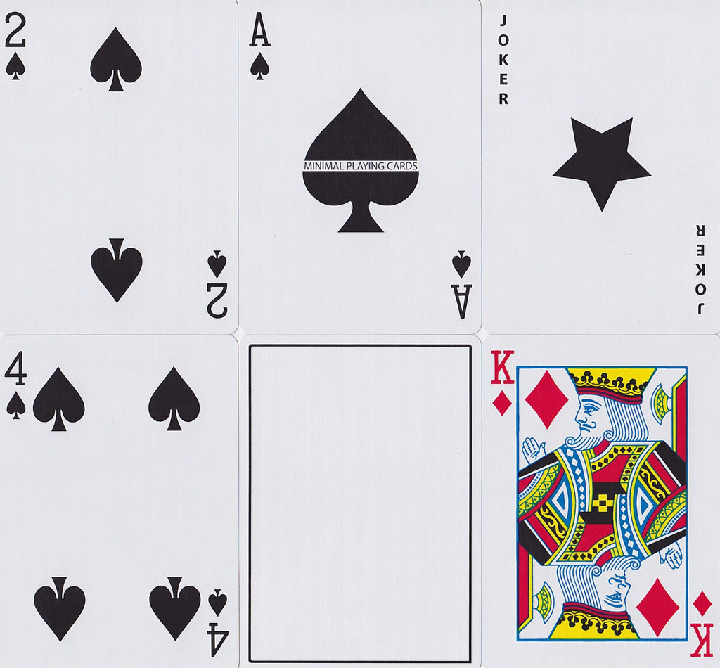 White NOC Playing Cards - RarePlayingCards.com - 9