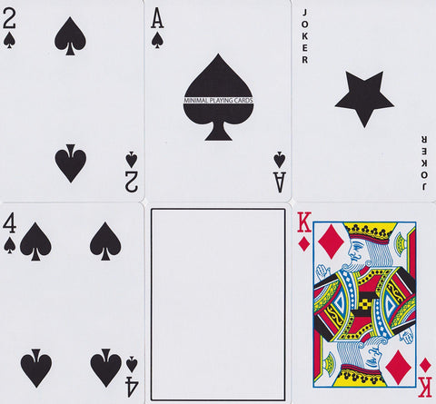 White NOC Playing Cards by The Blue Crown