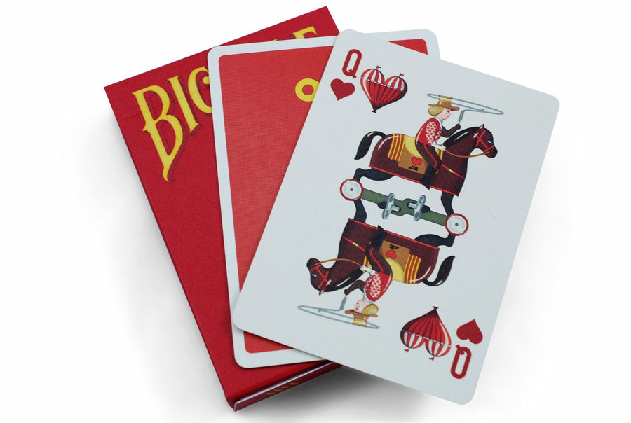 Wind-Up Playing Cards by US Playing Card Co.