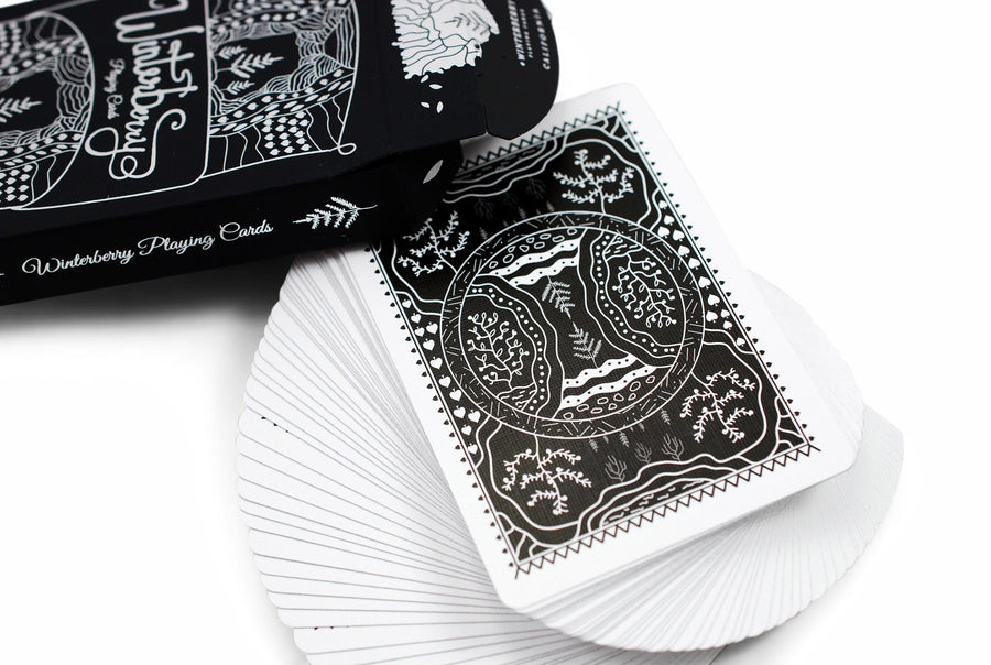 Winterberry Playing Cards by got magic?