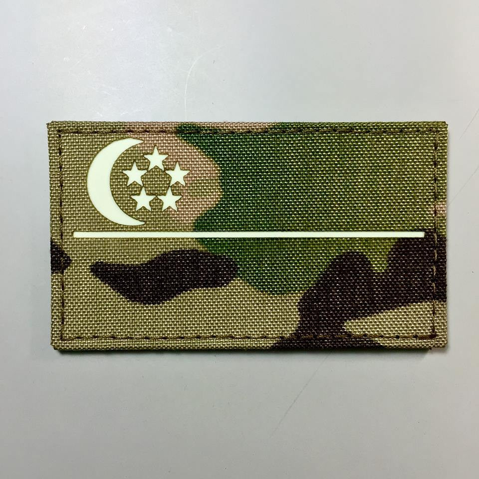 SINGAPORE GITD Morale Patch by Spartan Village