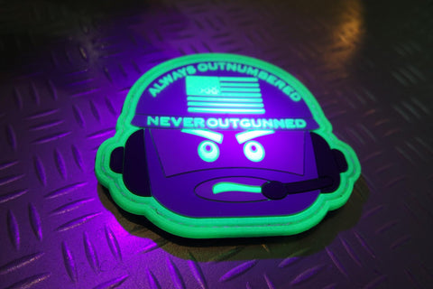 AONO ALWAYS OUTNUMBERED /  HORNEST GITD PATCH