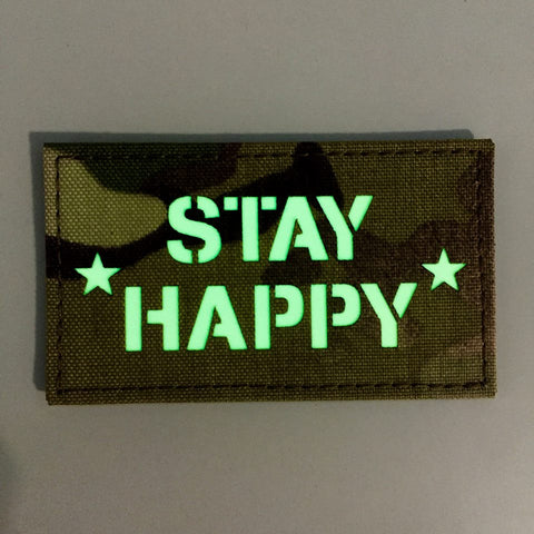 * STAY HAPPY * BY SPARTAN VILLAGE MADE IN USA