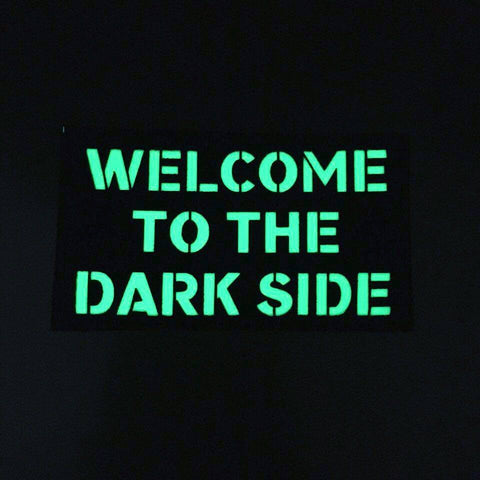 WELCOME TO THE DARK SIDE GITD PATCH (   Typhon ) MADE BY PARAPUMA