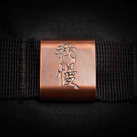 Steel Flame  Molle Clip Copper