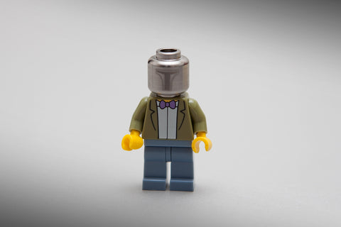 SW LG Titanium BY LSM CUSTOM ( Head Fit minifigure ) LIMITED EDITION