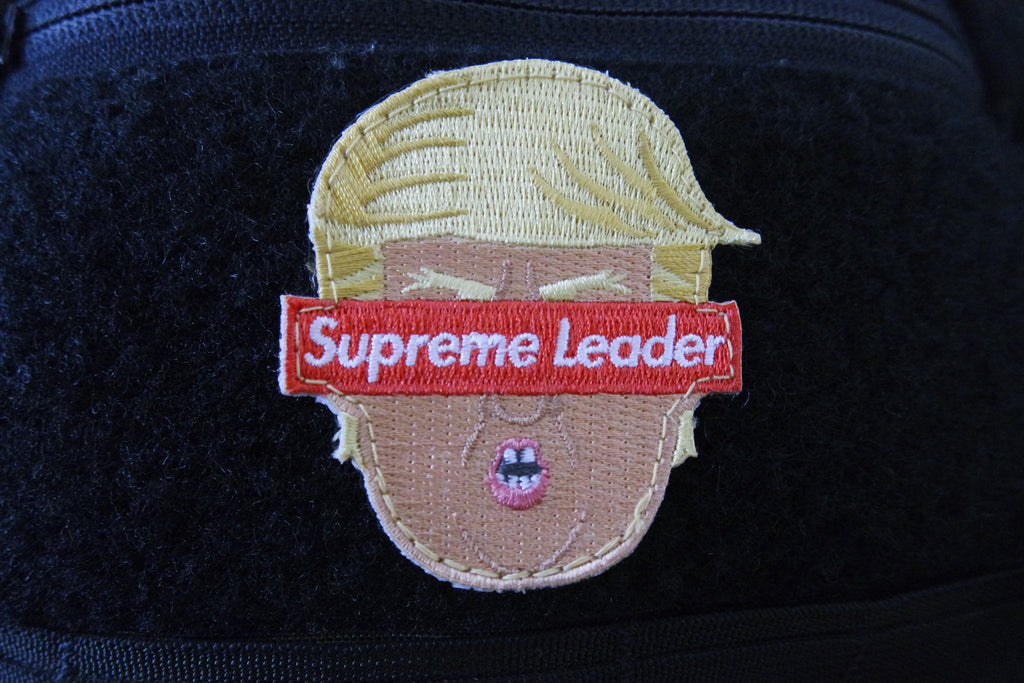 Supreme Leader Trump Patch by FLABSLAB